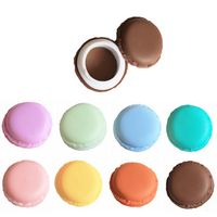 Mini Fake Macaron Shape Trinket Storage Box