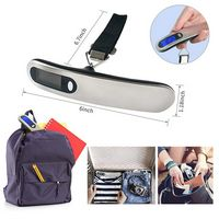 Digital Luggage Scale With Lcd Display