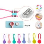 Silicone Magnetic Earbuds Winder