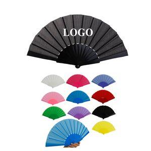 Plastic Folding Hand Fan