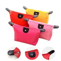 Dumpling Shape Waterproof Portable Cosmetic Bag
