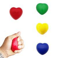 PU Heart-shaped Stress Ball