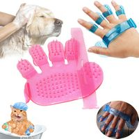 Pet Massage Bath Brush & Gloves