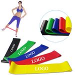 Custom Latex Yoga Stretch Band