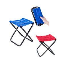 Folding Portable Lightweight Camp Stool Chair