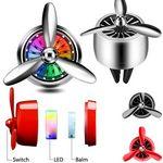 Custom LED Propeller Air Outlet Car Perfume
