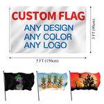 3X5 FT Custom Flag Bann...