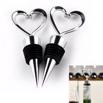 Custom Heart Shaped Wine Bottle Stopper