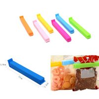 Plastic Food-Bag Sealing Clips