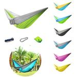Custom Single Camping Hammock With Pouch