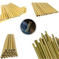 8'' Natural Bamboo Drinking Straws