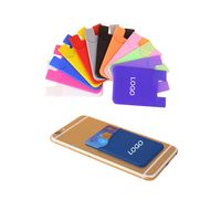 Silicone Card Wallet for Mobile Phone
