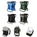 Custom Portable Backpack Folding Chair