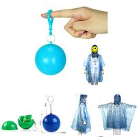 Disposable Rain Poncho Ball Raincoat