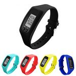Custom Fitness Wrist Pedometer Watch