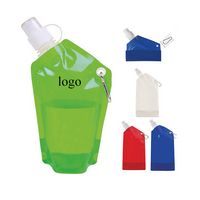 18 Oz. Collapsible Water Bottle