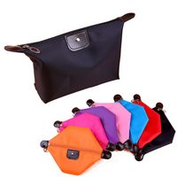 Leather Handle Toiletry Bag