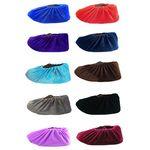 Custom Skid-resistant Flannelette Shoe Covers