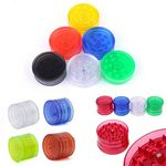 Custom 4 Layer Plastic Grinder Leaf Herbal Herb Spice Crusher