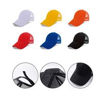 100% Cotton Mesh Baseball Caps