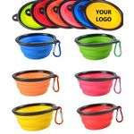 Custom Silicone Collapsible Bowl With Hook