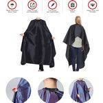 Custom Hair Salon Nylon Cape with Snap Closure