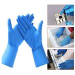 Custom Powder Free Disposable Nitrile Gloves Rubber Latex