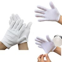 White Protective Working Gloves