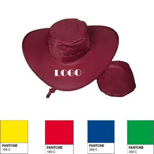 20200fe2d33f9 Foldable Nylon Cowboy Hat - GTR20960 - IdeaStage Promotional Products