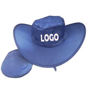 3de11ef0a0683 Foldable Cowboy Hat W Pouch - GTR10956 - IdeaStage Promotional Products