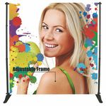 Custom Adjustable Banner Frame Single sided Graphic package (10'x8') Ft.