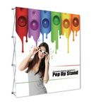 Custom Fabric Pop Up - Straight Graphic Package (89