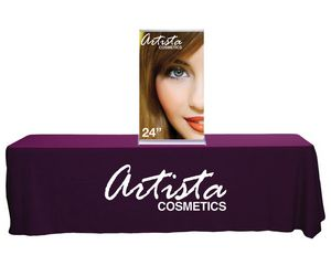 Silverstep Tabletop 24 Retractable Banner Stand Graphic package (24 x 45)