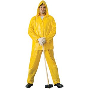 Yellow Light Weight Rain Suit