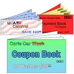 Custom Full Color Stapled Coupon Book
