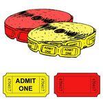 Custom Standard Single Roll Tickets (2000 per roll)
