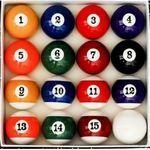 Billiard Ball Full Set