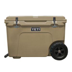 Custom Full Color Printed Authentic Yeti Tundra Haul 50qt Cooler w/ Wheels