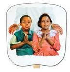 Custom In Jesus Name Stock Religious & Inspirational Fan