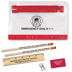 Custom School Kit w/Pencils & Ruler