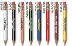 Custom Round Golf Pencil w/ Eraser
