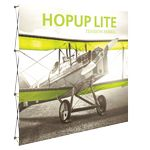 Custom Hopup Lite 8ft Straight Full Height Display & Front Graphic