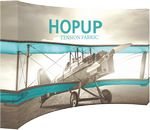 Custom Hopup 13ft. Full Height Curved Display & Fitted Graphic