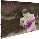 Custom Embrace Lite 7.5ft. Full Height Display with Front Graphic