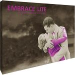 Custom Embrace Lite 7.5ft. Full Height Display with Full Fitted Graphic