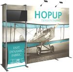 Custom Hopup 10ft Tension Fabric Backwall & Accessory Kit 03