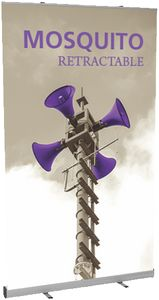 Mosquito 1200 Silver Banner Stand