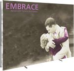 Custom Embrace 10ft. Full Height Display W/Front Graphic