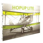 Custom Hopup Lite 10ft Straight Full Height Display & Front Graphic