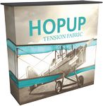 Custom Hopup Counter & Tension Fabric Graphic